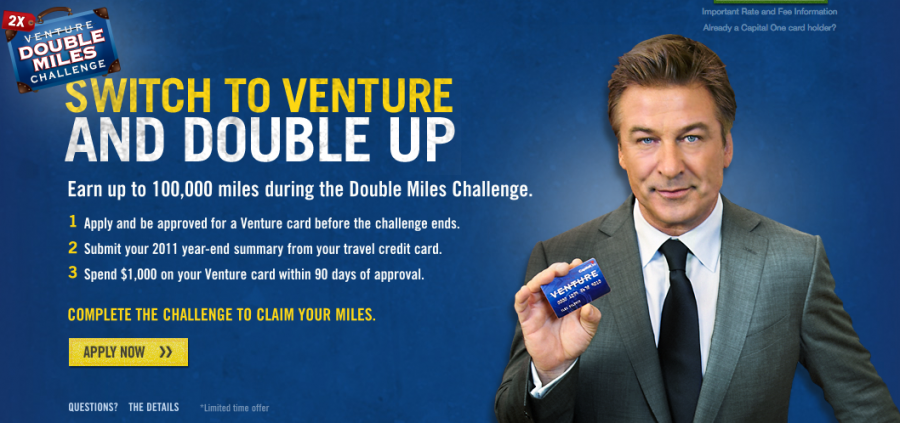 Capital One Venture Card 100 000 Point Sign Up Bonus Is