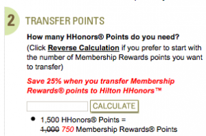 (Targeted) New Amex Transfer Bonuses With Hilton, Choice and Starwood