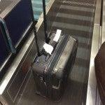 I had to check my roll-on bag!