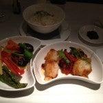 Stir-fried fish and veggies.