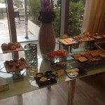 The Platinum breakfast spread at the St. Regis Bal Harbor's Atlantico restaurant.