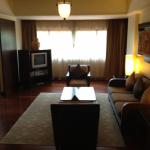 A shot of my Corner Suite's living room.