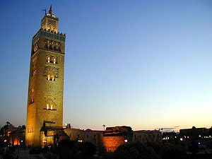 The towering Koutoubia Minaret has dominated the Marrakech skyline for nearly 1,000 years.