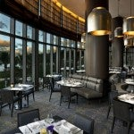 "The hotel's signature restaurant is the J&G Grill ""inspired"" by Jean-Georges Vongerichten."