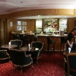 The hotel's classic (some might say staid) Tuileries bar.