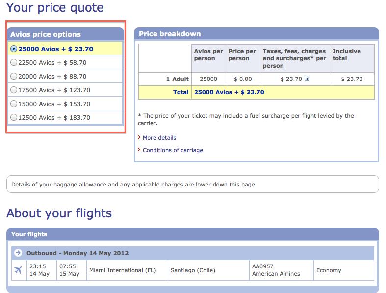 Maximizing British Airways Avios: The Avios and Cash ...