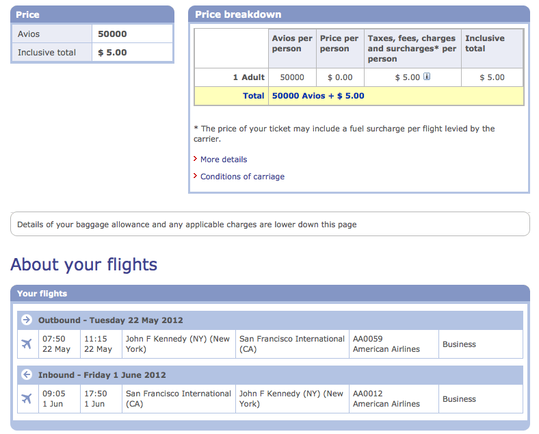 : How to Book American Airlines Flights With British Airways Avios