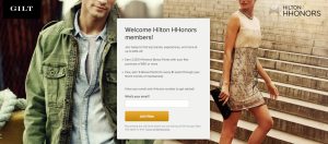2,000 Hilton HHonors Points And 6 Points Per Dollar With Gilt Groupe