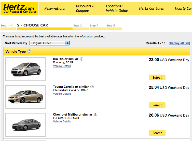 Hertz discount coupon code