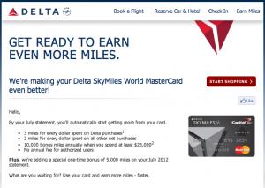New Perks for the Delta SkyMiles World MasterCard Canada