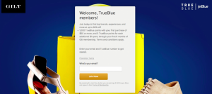 1,000 JetBlue Points and 5 Points Per Dollar With Gilt