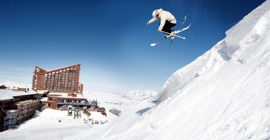 Head to Chile this summer (their winter) to catch their ski season at Valle Nevado near Santiago.