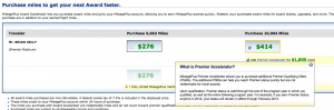 If you still have a flight left, you could consider buying miles with the United Elite Maximizer.