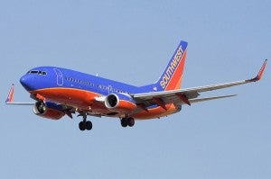 Southwest has the largest presence at San Diego.