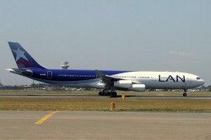 Oneworld partner, LAN Airlines.