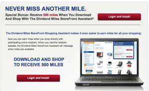 500 US Airways Miles For Downloading StoreFront Assistant