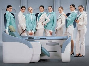 A seat in Korean Air's Prestige Class will cost more
