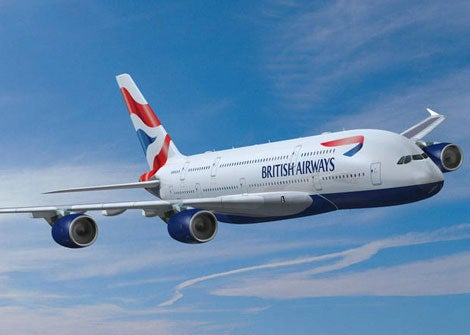 I would be flying BA's A380 - the only question was, would it be in business or first class?