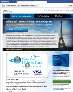 """Introducing """"Catch The Points Guy"""" With Chase Sapphire Preferred"""