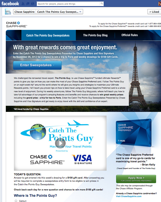 the points guy website