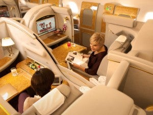 Emirates First Class Suites A380