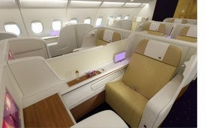 I can't wait to fly the Thai A380's First Class.