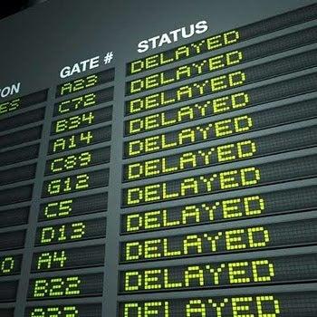 More mergers mean more flight delays.