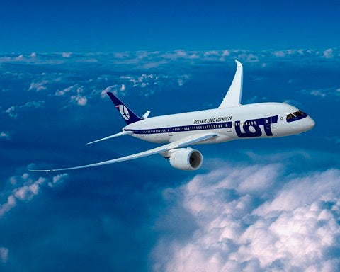 LOT will be the first European airline to fly a 787.