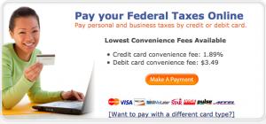 PayUSAtax.com Options