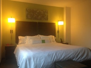Element hotels feature Westin Heavenly Beds.