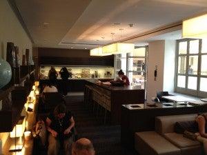 Lobby lounge area.