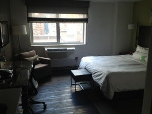 My Studio Room at Element Times Square