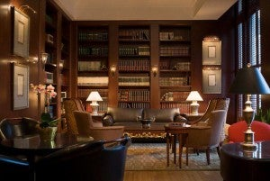 Library at the Hilton Boston Downtown/Financial District.