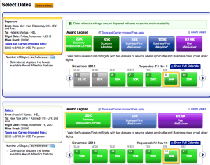 AA.com Now Searches For Finnair and Air Berlin Awards