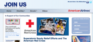Earning and Using Points For Hurricane Sandy Relief Donations