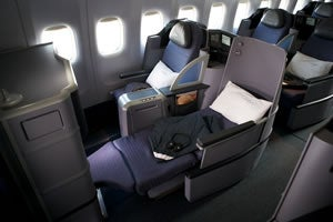 United will be replacing the current first and business class seats with its BusinessFirst lie-flat product.