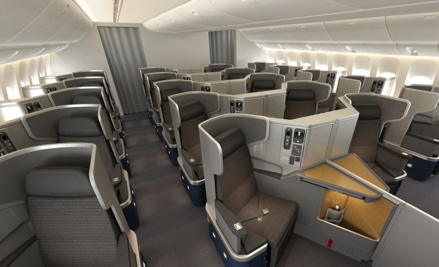 Maximizing the newest business and first class products on for Interieur airbus a340 600