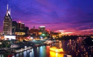 It's hot in the South right now, and southern destinations like Nashville are hot!
