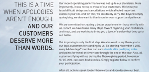 If you flew American during its Double EQM promo - make sure you got all your miles!