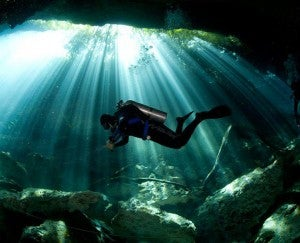 Go scuba diving or snorkeling in one of the coastal cenotes, or underwater caves, like Ponderosa.