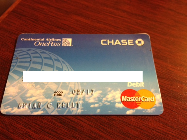 unfortunately my continental debit card from chase no longer gets me any milesnor does continental exist - Debit Card Rewards