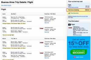 Amazing Fare Alert: NY/LA/Miami to Buenos Aires & Santiago from $339 Total Roundtrip!