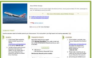 Amex Transfer Bonus to British Airways ends Monday.