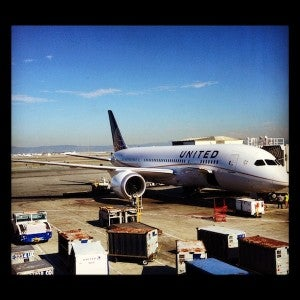 My first time flying the United 787 was on the Star Mega Do.