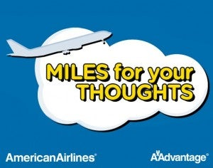 500 Free American AAdvantage Miles with Quick Facebook Survey