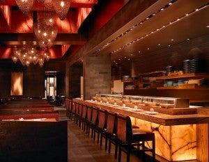 Nobu Waikiki offers a variety of sushi options.