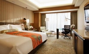 King guest room at the Intercontinental Asiana Saigon.