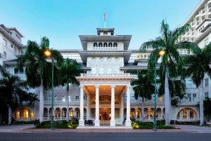 Moana Surfrider, A Westin Resort & Spa.