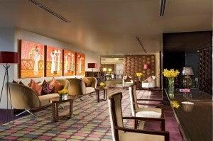 Club lounge at the Sheraton Saigon Hotel and Towers.