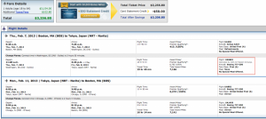 Cheap First Class Fares on United and American to China and Japan in 2013